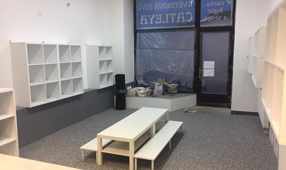 rekonstrukce prodejna Vyškov 2